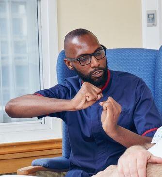 Photo of Desmond Runganga, Orthopaedic Clinical Nurse Specialist